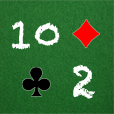 Tens and Twos Addictive Classic Card Game icon