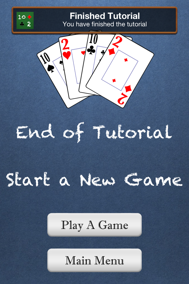 how to play tens card game